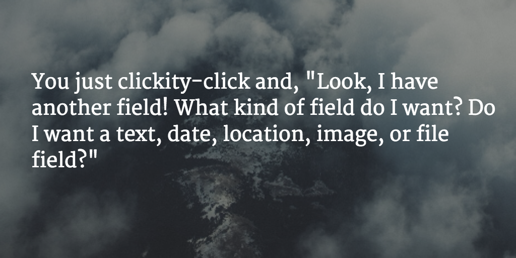 Zitat: You just clickity-click and,